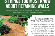 8 Things to Know about Retaining Walls