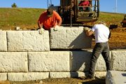 A Wide Array of Retaining Wall Material