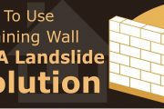 How To Use Retaining Wall As A Landslide Solution